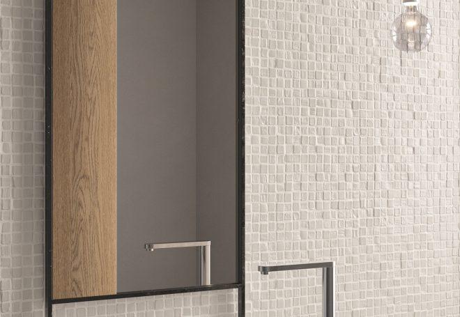 LH Bianco Mosaico 30x30 Part. Am Bagno